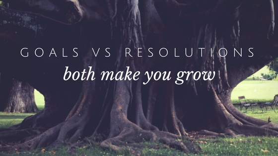 ]Goals vs Resolutions